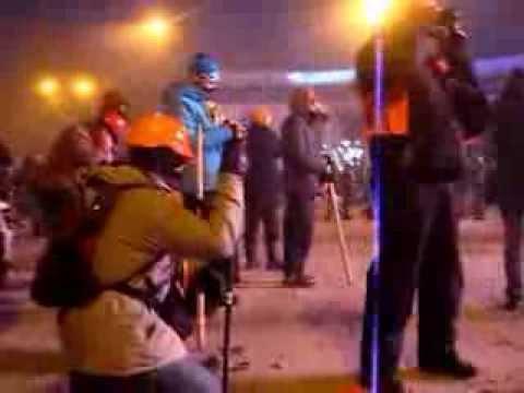 Сутички на Грушевського. Євромайдан проти ВВ та Беркуту