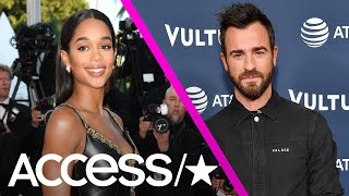Justin Theroux Vacations With Actress Laura Harrier In The South Of France