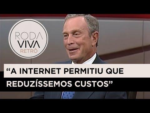 Michael Bloomberg fala sobre problemas da internet | 2000