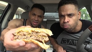 Eating McDonalds Double Quarter Pounder® with Cheese Fiasco @Hodgetwins