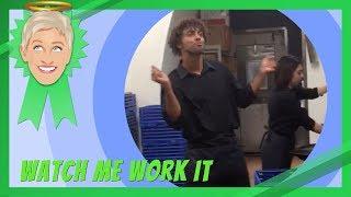 Ellen's 'Watch Me Work It' Challenge