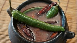 Ethiopian Food - Pepper pot soup Shorba (Super spicy)