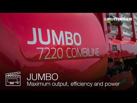 New Generation of JUMBO loader wagon