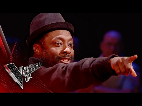 will.i.am brings that FIYAH! 🔥🔥🔥 | The Voice UK 2017