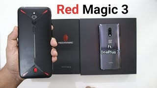 Nubia Red Magic 3 Vs OnePlus 7 Comparison   Nubia Red Magic 3 Unboxing And Review