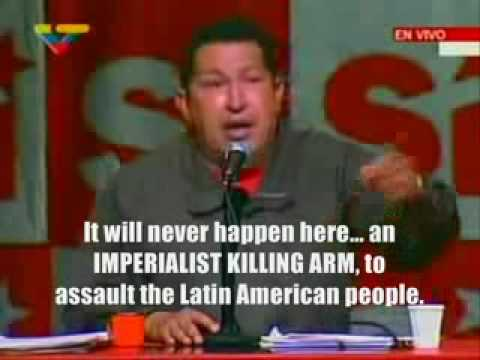 Hugo chavez From Venezuela on gaza Speech - English Translation