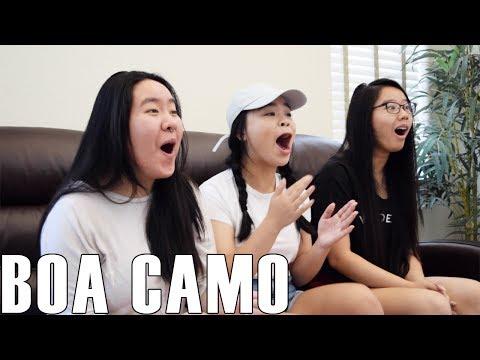 BoA (보아)- Camo (Reaction Video)