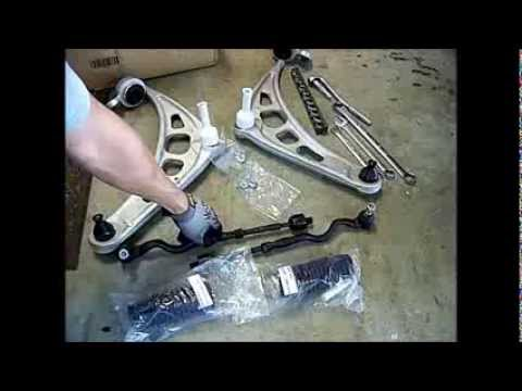 Bmw 330i 325i E46 Lower Control Arms And Tie Rods How
