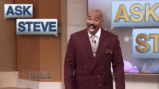 Ask Steve: I walked in on my son... || STEVE HARVEY