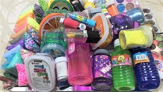 Mixing All my Ingredients into Store Bought Slime !! Slimesmoothie Satisfying Slime Videos