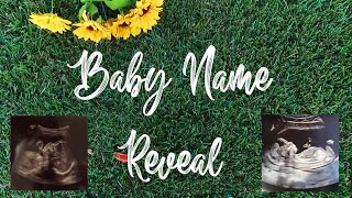 BABY NAME REVEAL! | teen mom baby name reveal ♡