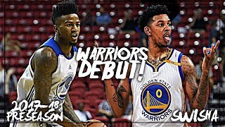 Nick Young & Jordan Bell Full Highlights vs Nuggets (9.30.17) - 10 Pts Combined