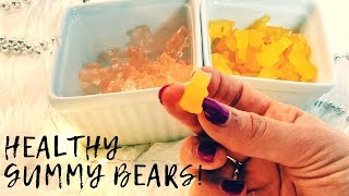 How to Make Gummy Bears, Worms, & Food   Healthy Recipe   GENIUS BAKING