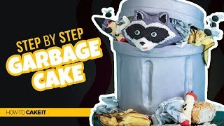How To Make A CRAZY Garbage Cake by Cassie Garner | How To Cake It Step By Step