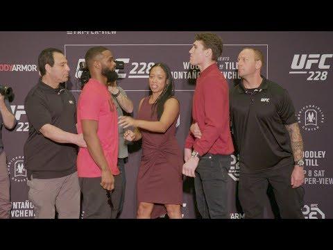 Medialne twarzą w twarz przed UFC 228 z udziałem Kowalkiewicz vs Andrade