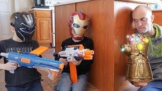 Nerf War : Avengers Infinity Gauntlet (Spoilers)