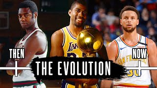 The Evolution of The Point Guard Position in The NBA