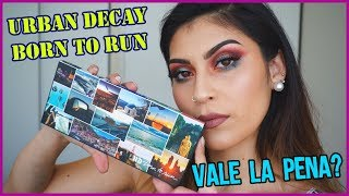 Primeras impresiones Paleta BORN TO RUN de Urban Decay