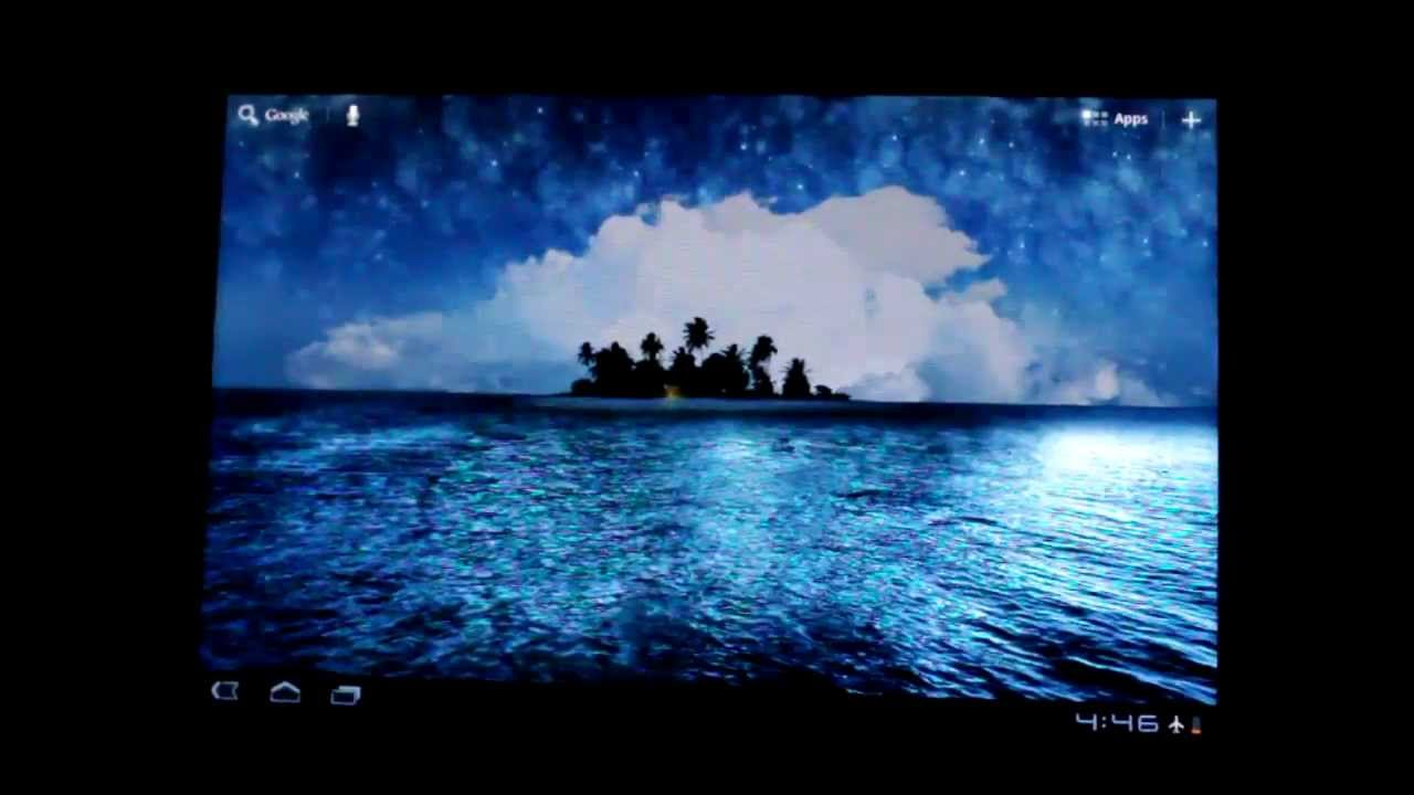 Best Live Wallpaper android for tablet hd - YouTube