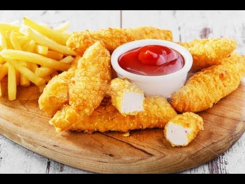 Куриное филе в кляре - Золотые пальчики цыпленка