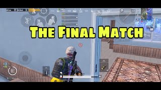 The Final Crew Challenge Match | Pubg Mobile | The Brawlers