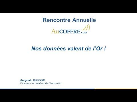 Nos données valent de l'or - Benjamin Rosoor - AuCOFFRE.com