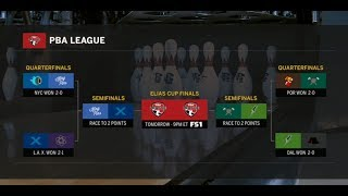 2019 PBA League Semifinals - NYC vs. L.A., Portland vs. Dallas
