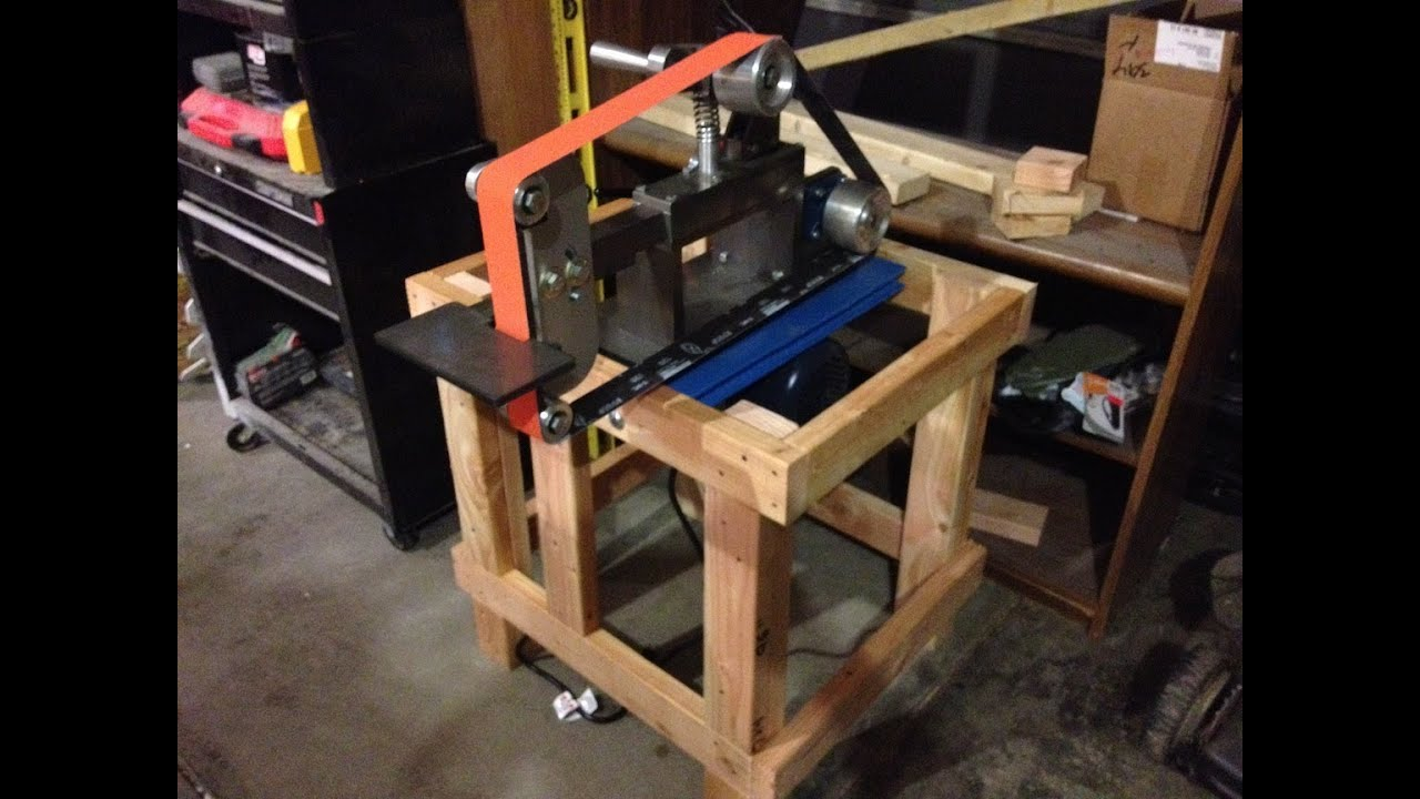 Beaumont Kmg Grinder Vertical Horizontal Stand Build Youtube