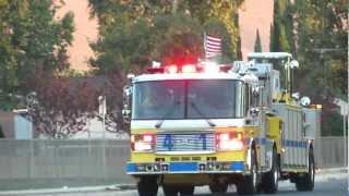 VCFD Station 41 responding to a TCHVY