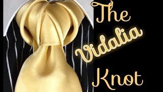 How to tie a tie: The Vidalia Knot