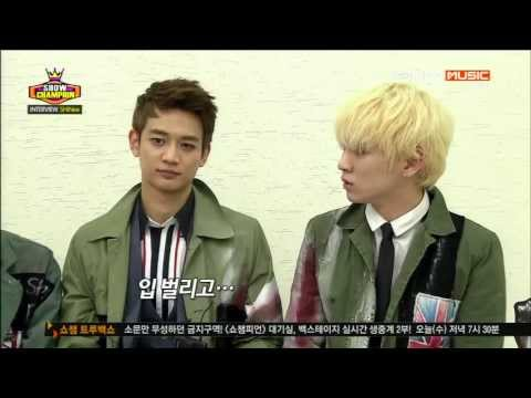 130501 SHINee - Interview + SHINe + Why So Serious? @ Show Champion [1080p]