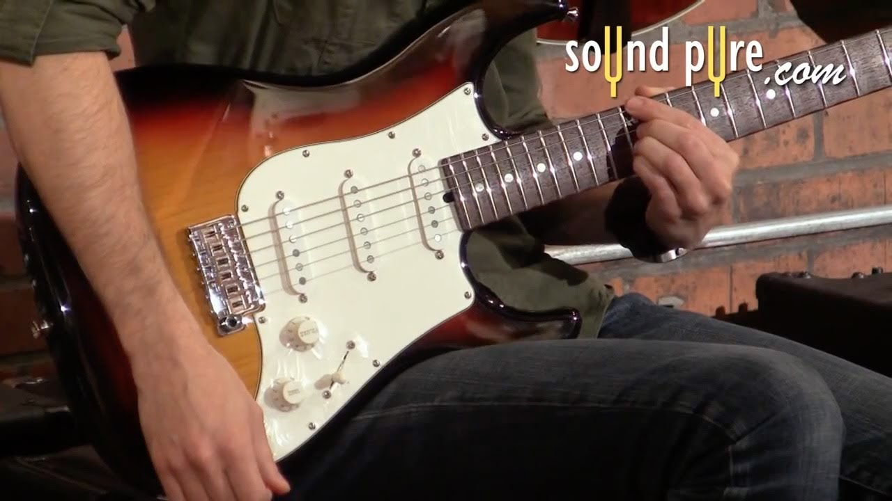 single coil pickups vs humbucker pickups in electric guitars demo video youtube. Black Bedroom Furniture Sets. Home Design Ideas