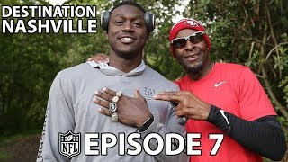 A.J. Brown Runs the Hill with Jerry Rice & Greedy Goes Back to LSU with Tyrann Mathieu