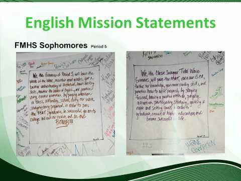 Creating a Mission Statement Using an Affinity Diagram