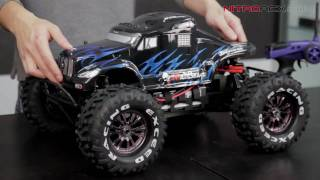 1/8th Scale Brushless Electric Mad Beast Monster RC Truck Overview