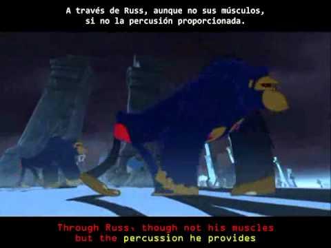Gorillaz - Clint Eastwood (Español- Ingles)- Subtitulado- Good Quality
