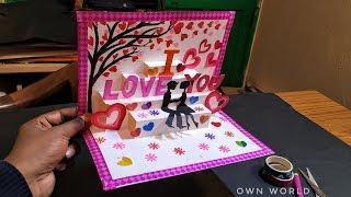 Beautiful Birthday Greeting Card Idea | DIY Birthday POP-UP card |mother's day card!