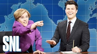 Weekend Update: Sen. Elizabeth Warren on Running for President - SNL