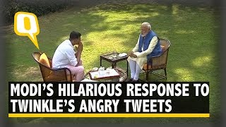 PM Modi's Hilarious Jibe On Akshay-Twinkle Married Life..
