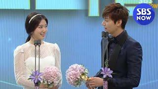 SBS [2013연기대상] - 베스트 커플상(이민호,박신혜)
