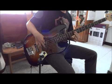 五月天 - 倉頡 bass cover