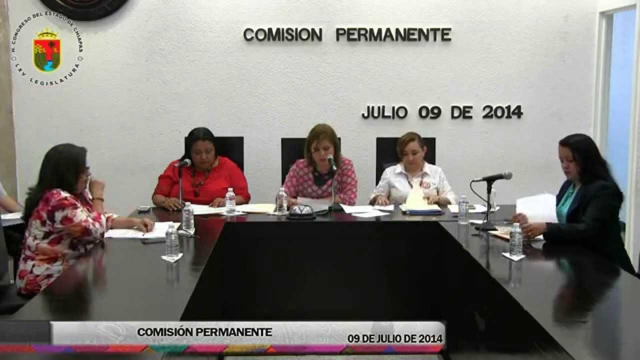 Comisión Permanente 09 de Julio de 2014