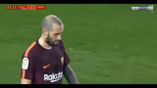 مباراة برشلونة واسبانيول بتاريخ 17-01-2018 كأس ملك إسبانيا ...