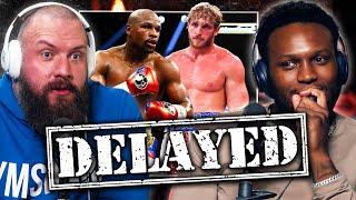 Logan Paul vs Floyd Mayweather DELAYED