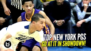 Top New York PGs Face Off! Cole Anthony vs Markquis Nowell!