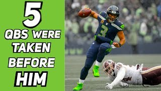 Who Were The 5 QBs Taken Before Russell Wilson? How Did Their Careers Turn Out?