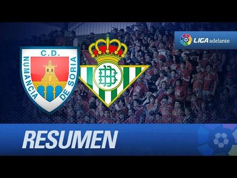 Numancia (1-1) R. Betis