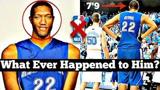 He was the TALLEST Player in the History of College Basketball... Why Didn't He Make the NBA?