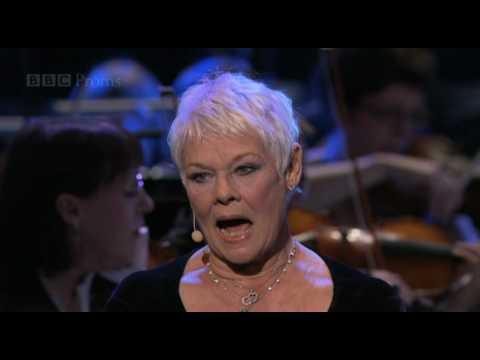 Dame Judi Dench sings