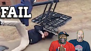 Reacting to the Best Sports Fails Compilations